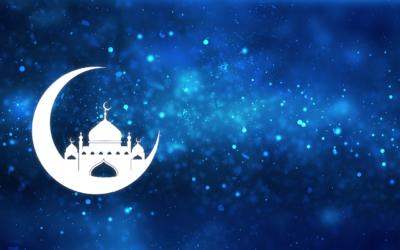 Paint Scrape Eid Cards – DIY Art Project