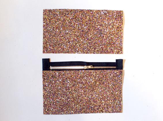 Glitery Graphic Pencil Case – DIY Art Project