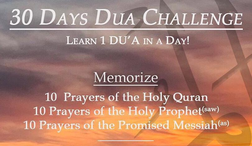 30 Days Prayer Challenge